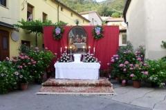 Oltar pred Kovačevo hišo